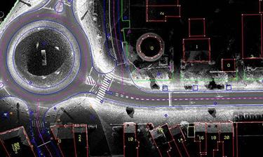 Afwerking en actualisatie van plannen in CAD en GIS software