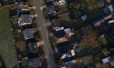 Luchtfoto gemaakt met een drone