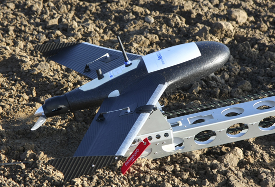 UAV X100 voor lancering