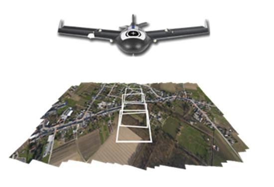 UAV fotovlucht