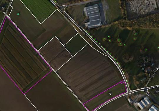 Teccon_UAV_orthofoto met plan