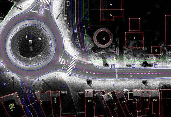 Combinatie van GRB met 3D puntenwolk van mobile mapping