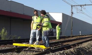 Begeleiding spoorwegwerf te Ninove