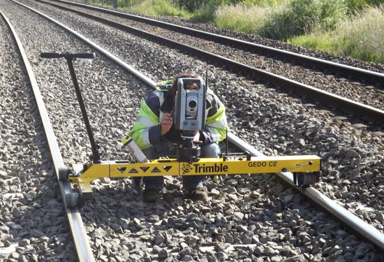 landmeetkundige werfopvolging bij spoorwegwerf