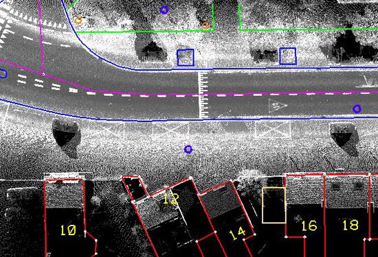 Controle van kaarten met mobile mapping data