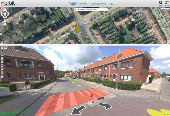 Mobile mapping viewer