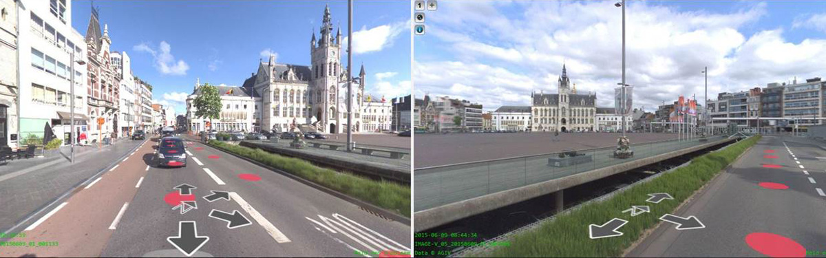 mobile mapping viewer Sint-Niklaas