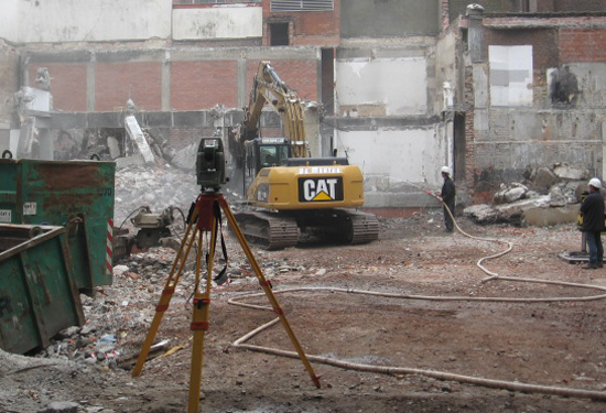 outsourcing landmeter voor werfopvolging