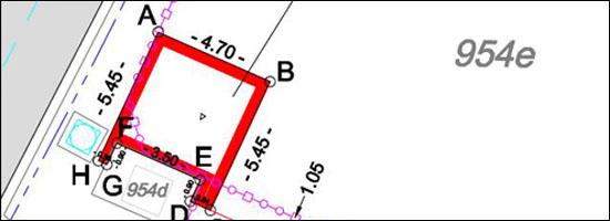 teccon_landmeetkunde_PV van opmeting cabine P