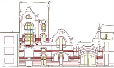 Architectuurmeting voor renovatiewerken te Gent