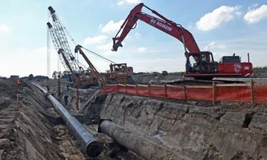 Werfbegeleiding gasleiding Dorsales