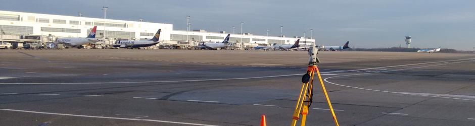 opmeting bij Brussels Airport