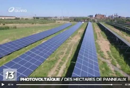 zonnepanelenpark La Louvière