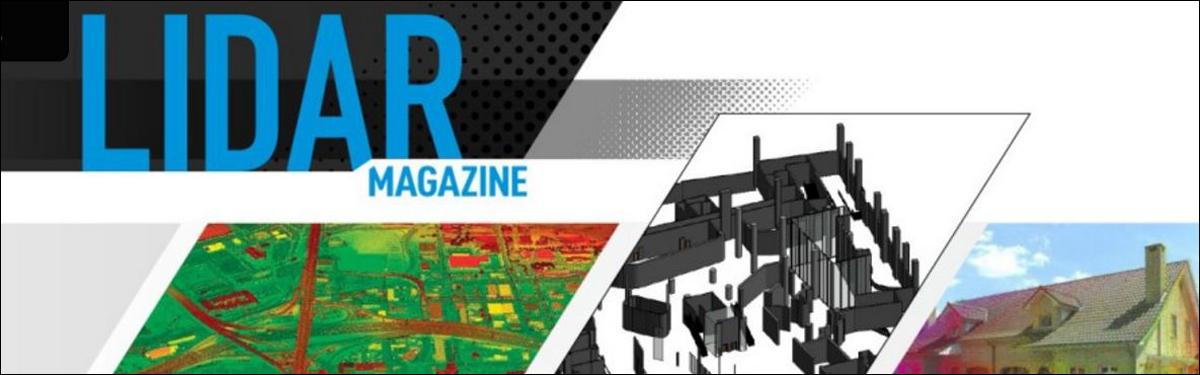 Artikel in LiDAR Magazine