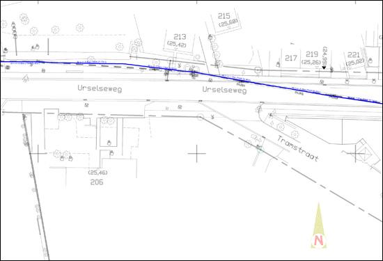 Plan waterleiding van Farys