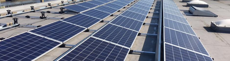 Plaatsbeschrijving van een dak voor plaatsing van zonnepanelen