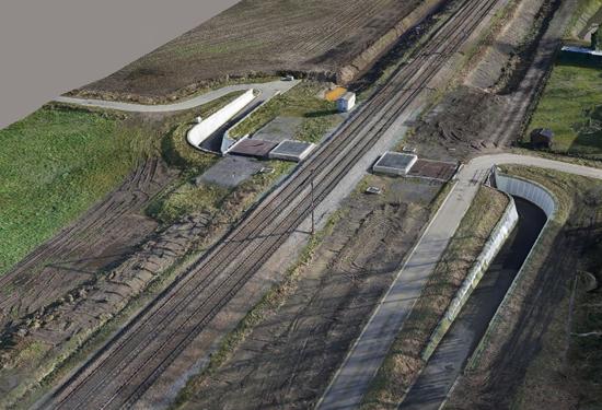 3d model spoorweg