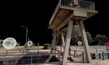 Dronefotografie van historisch sluizencomplex