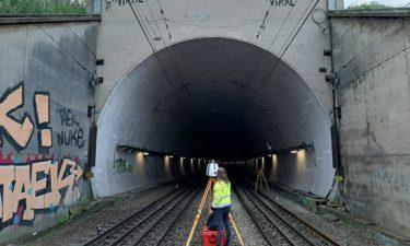 3D scan Kennedy tunnel