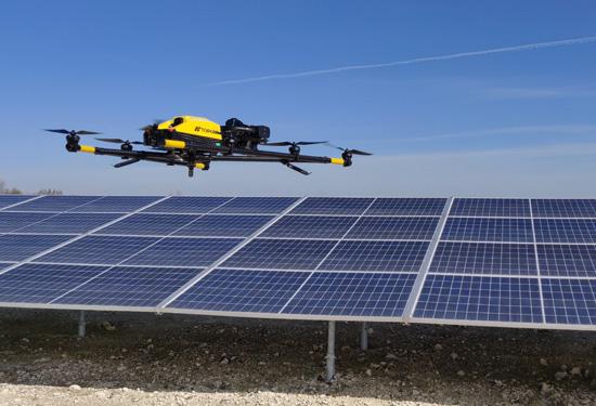 drone voor landmeetkundige toepassingen