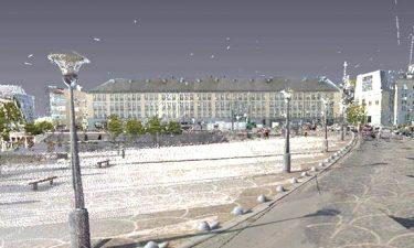 Update van de referentiekaart van het wegennet in Luik