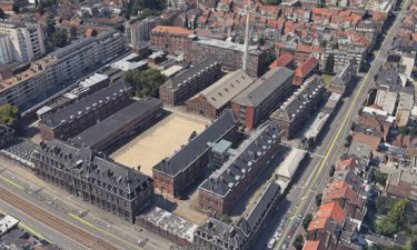 Architectuurmetingen van de gebouwen van de Kroon site in Elsene