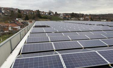 Opmeting van fotovoltaïsche installaties met een drone
