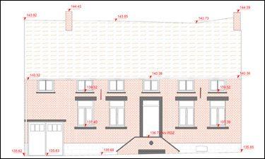 Opmeting van woningen voor architecten